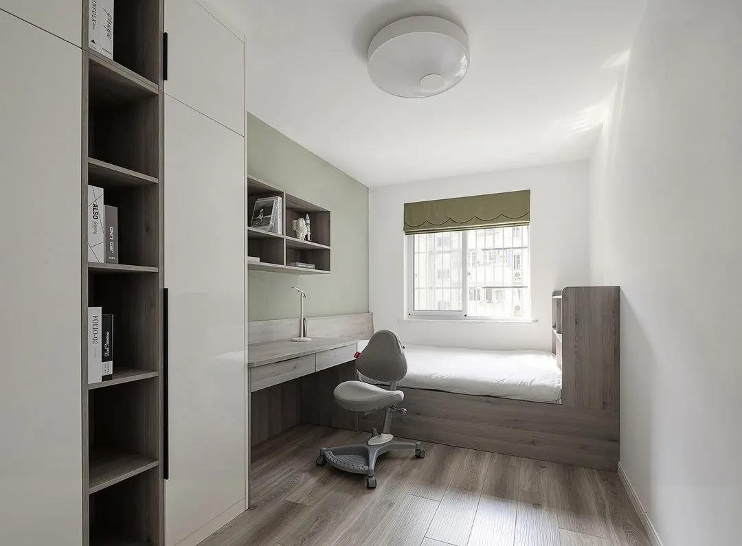 2021现代简约儿童房装饰设计 2021现代简约榻榻米装修设计图片