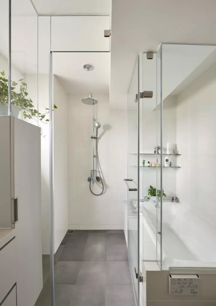 2021北欧卫生间装修图片 2021北欧淋浴房装修设计图片