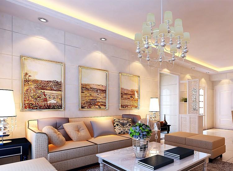 2021简欧客厅装修设计 2021简欧沙发装修设计
