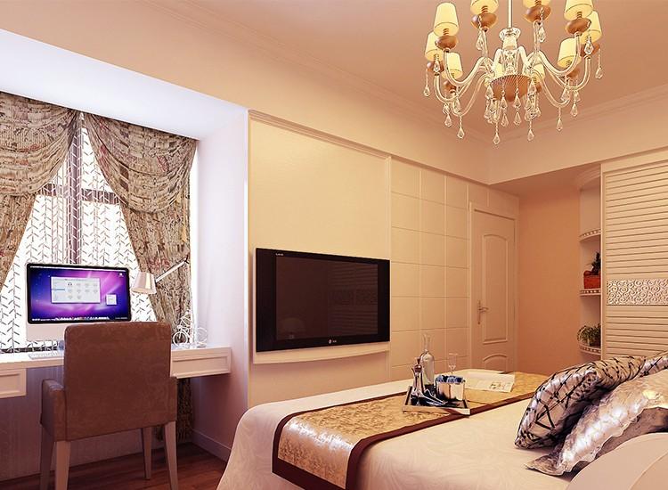 2021简欧卧室装修设计图片 2021简欧飘窗图片