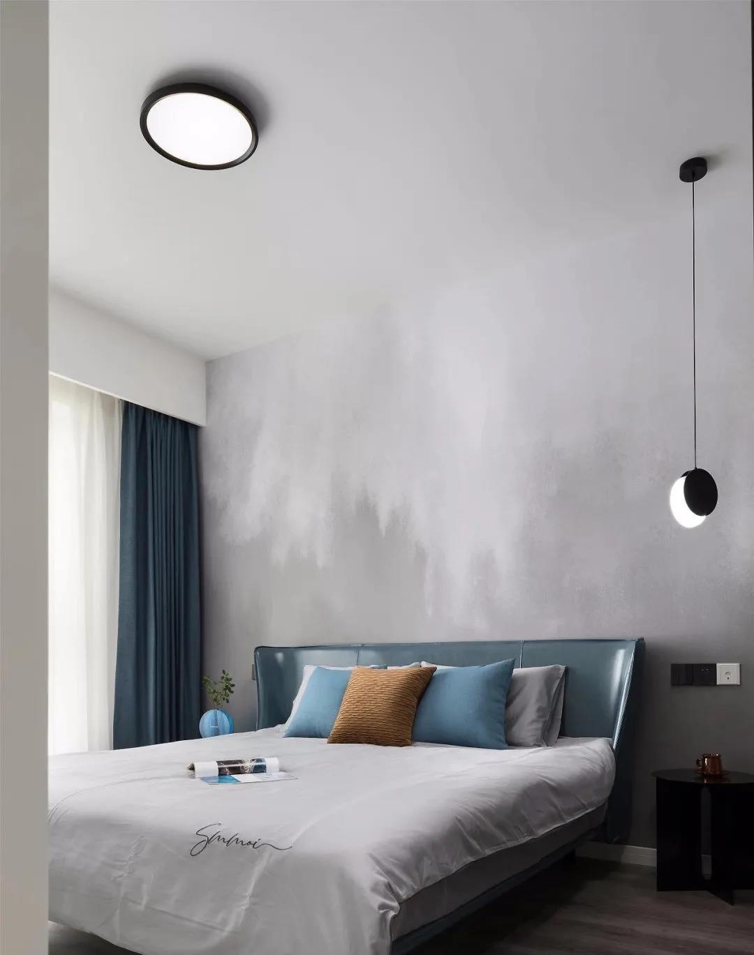 2021現代臥室裝修設計圖片 2021現代床裝修效果圖片