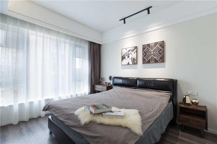 2021現代簡約臥室裝修設計圖片 2021現代簡約背景墻裝修設計