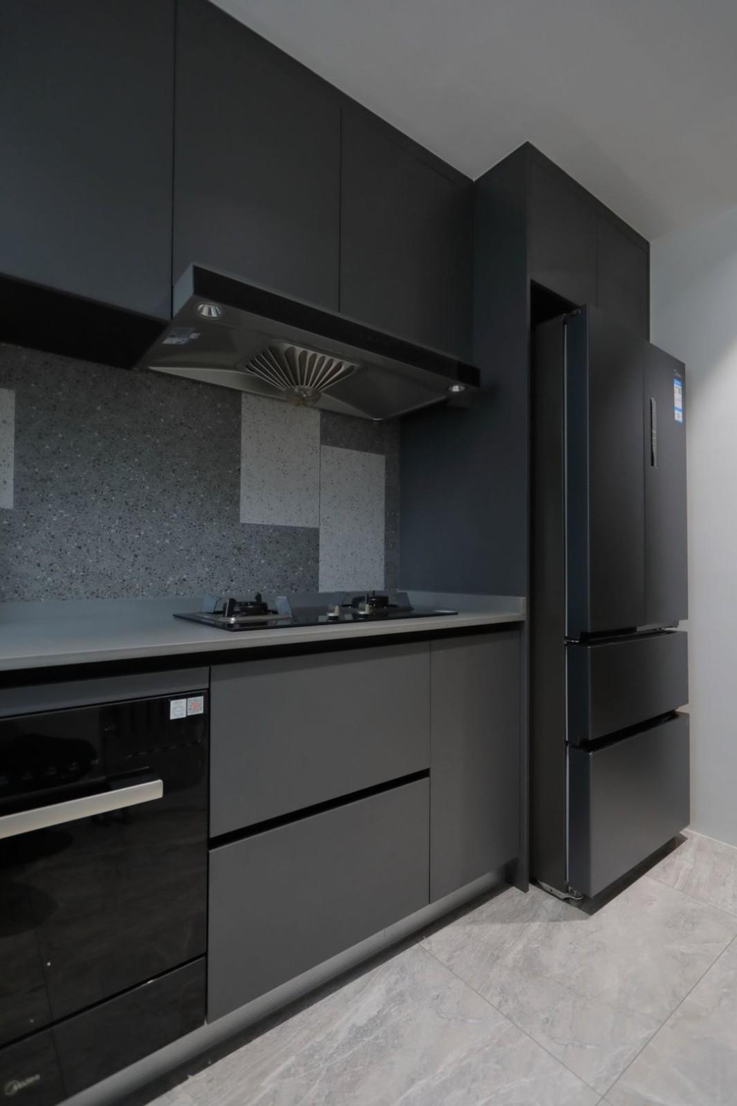 2021现代厨房装修图 2021现代厨房岛台效果图