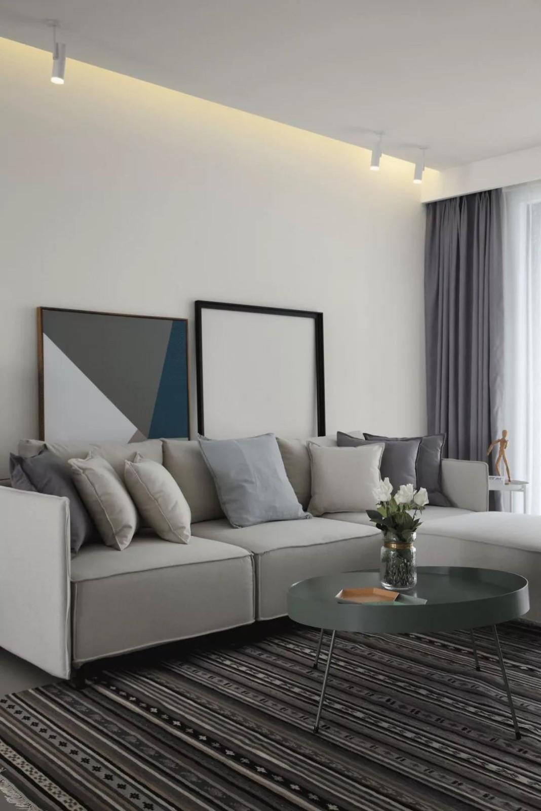 2021現代簡約客廳裝修設計 2021現代簡約沙發裝修圖