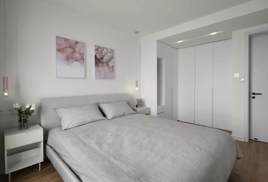 2021現代簡約臥室裝修設計圖片 2021現代簡約床裝修效果圖片