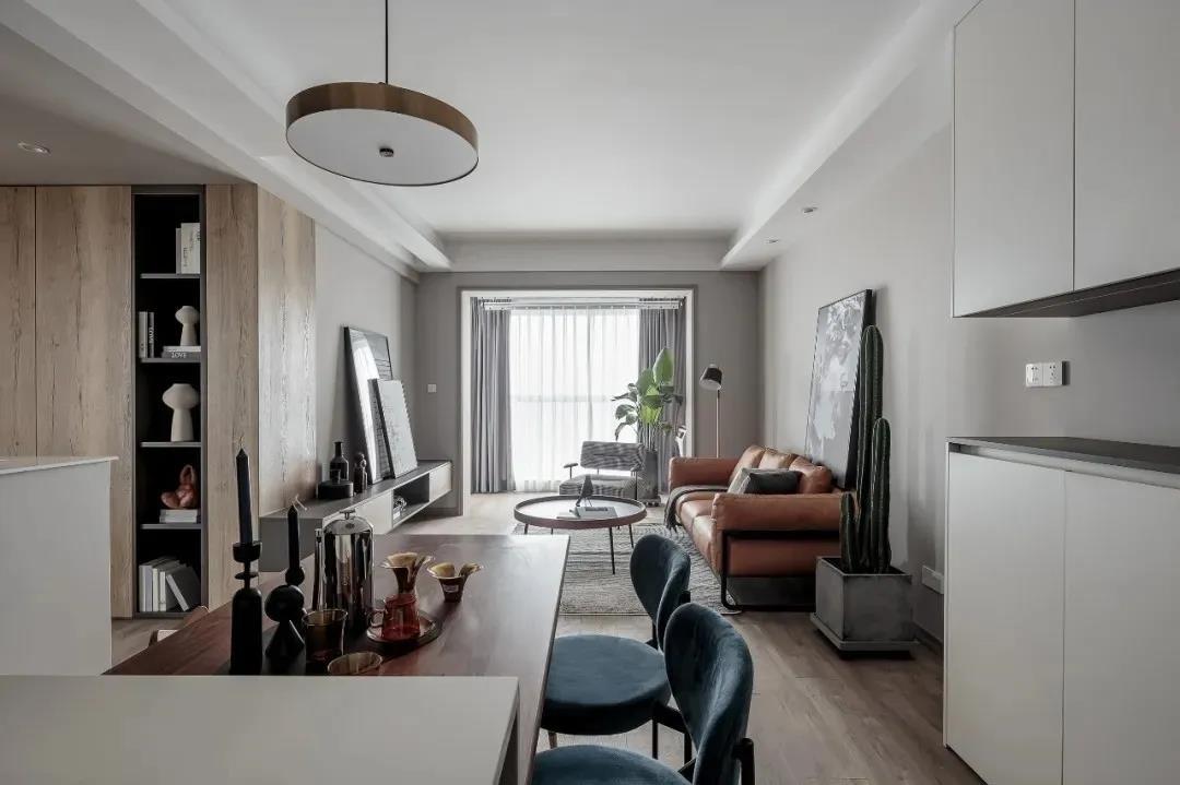 2021混搭客厅装修设计 2021混搭背景墙装修设计