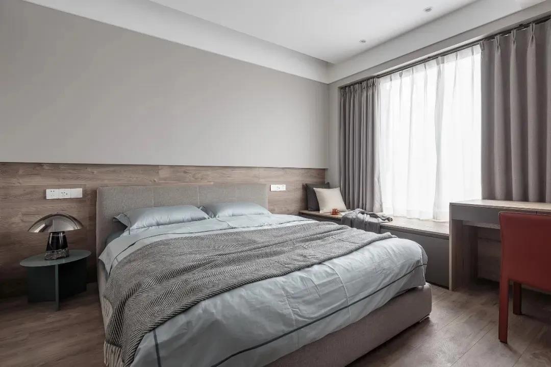 2021混搭卧室装修设计图片 2021混搭飘窗装修图片