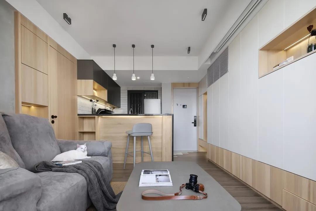 2021現代簡約客廳裝修設計 2021現代簡約背景墻裝修設計