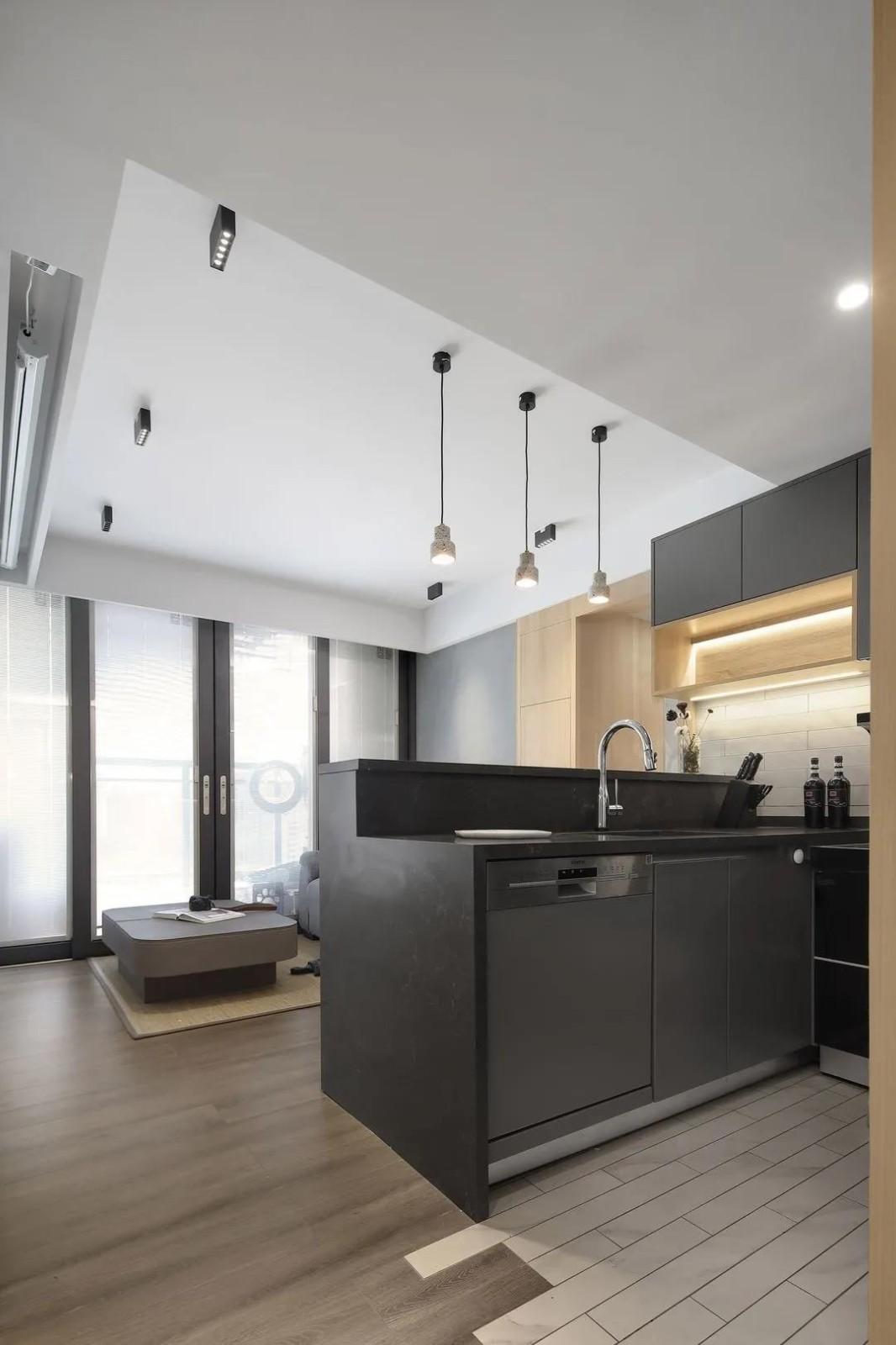 2021現代簡約廚房裝修圖 2021現代簡約細節裝飾設計