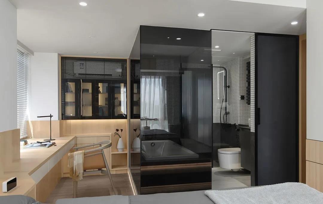 2021現代簡約臥室裝修設計圖片 2021現代簡約書桌圖片