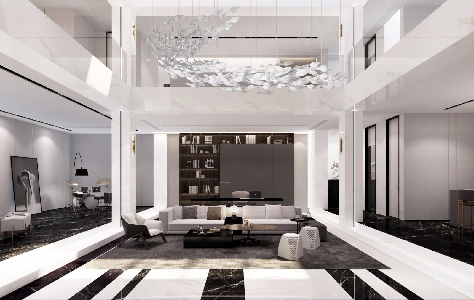 2021简约客厅装修设计 2021简约沙发装修设计