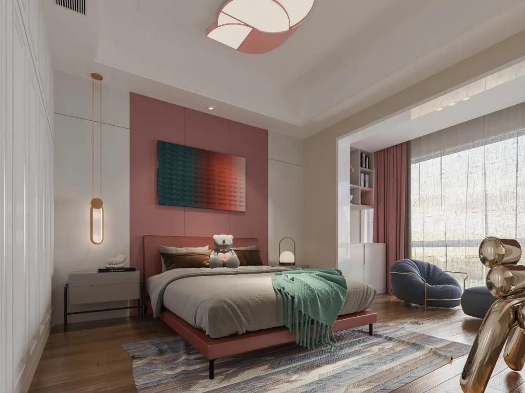 2021新中式臥室裝修設計圖片 2021新中式背景墻裝修設計