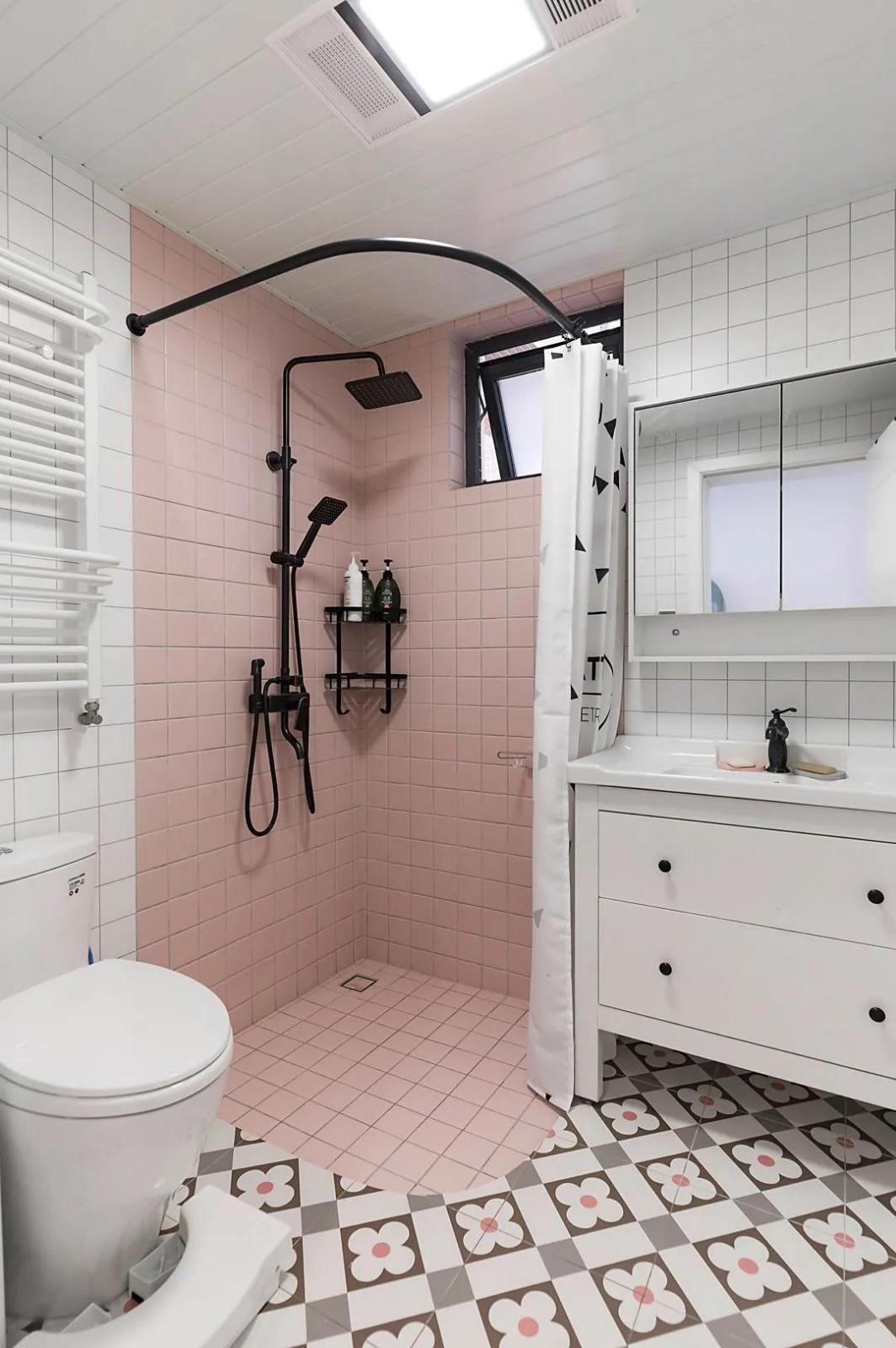 2021现代简约卫生间装修图片 2021现代简约背景墙装修设计