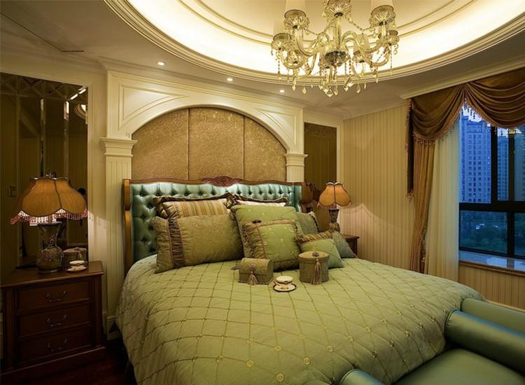 2021古典卧室装修设计图片 2021古典吊顶效果图