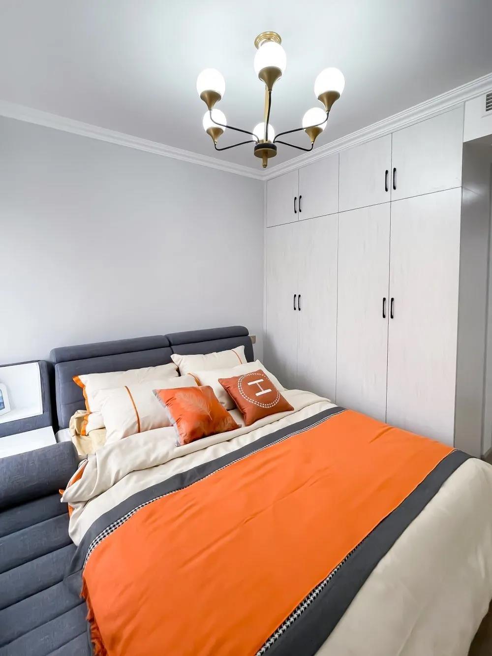 2021现代厨房装修图 2021现代床装修效果图片