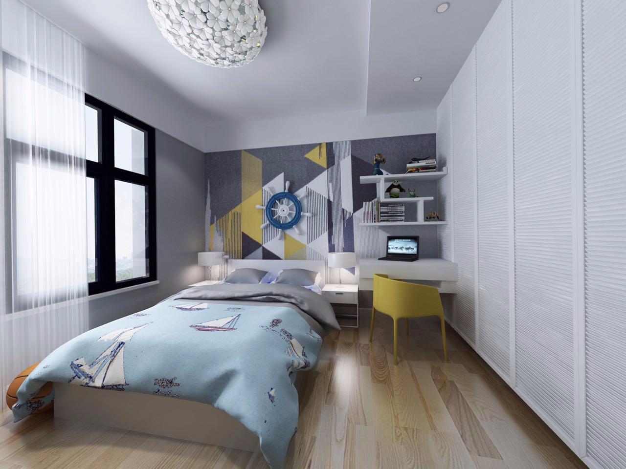 2021现代简约儿童房装饰设计 2021现代简约背景墙装修设计