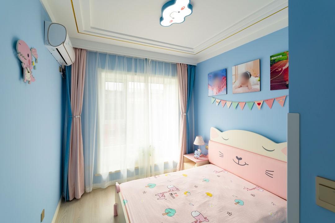 2021现代儿童房装饰设计 2021现代背景墙装修设计
