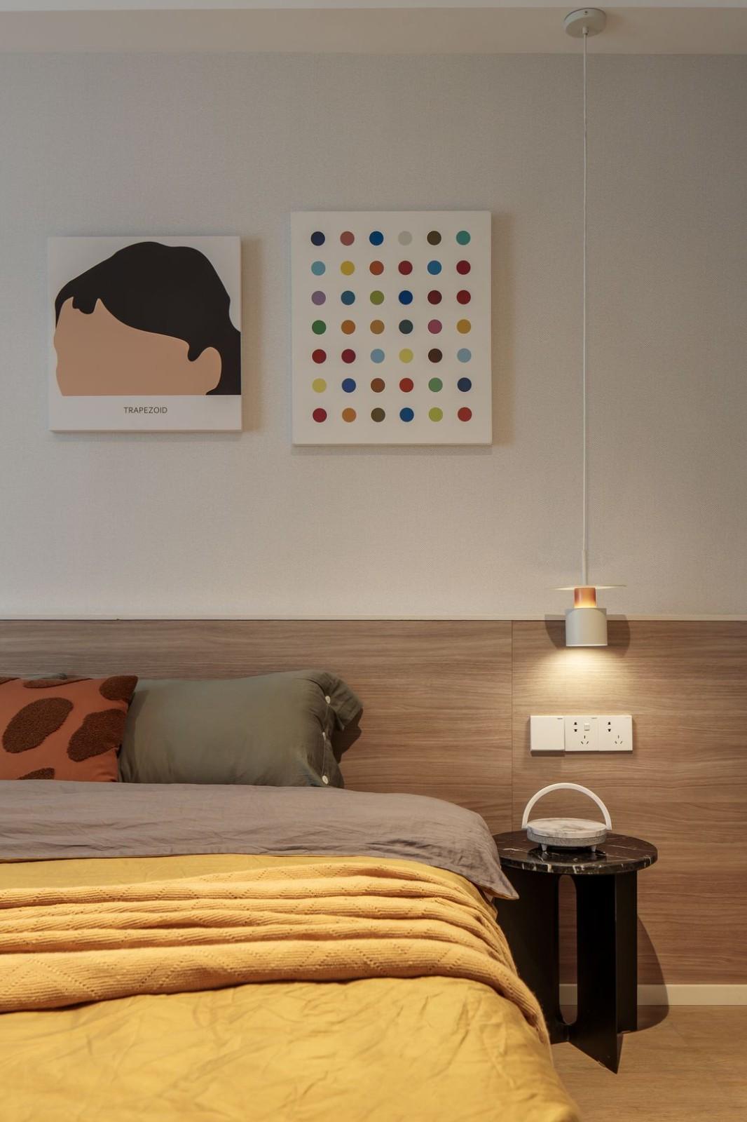 2021混搭卧室装修设计图片 2021混搭背景墙装修设计