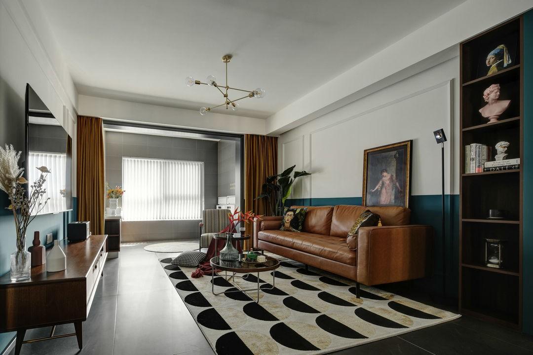 2021北欧客厅装修设计 2021北欧电视柜装修图片