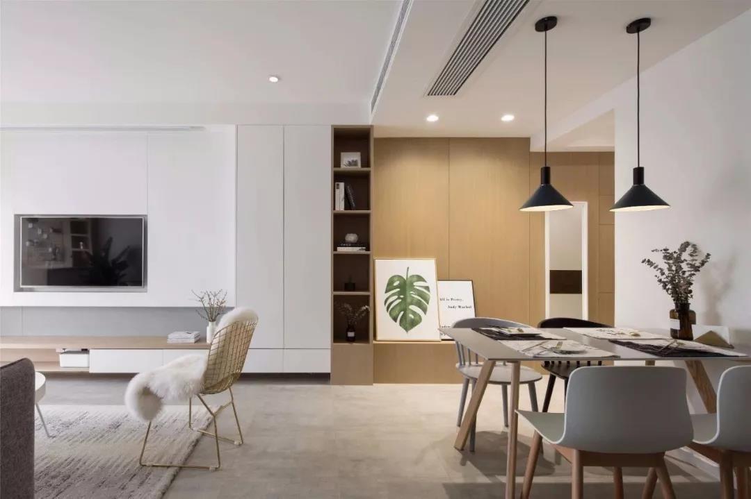 2021北欧110平米装修设计 2021北欧套房设计图片