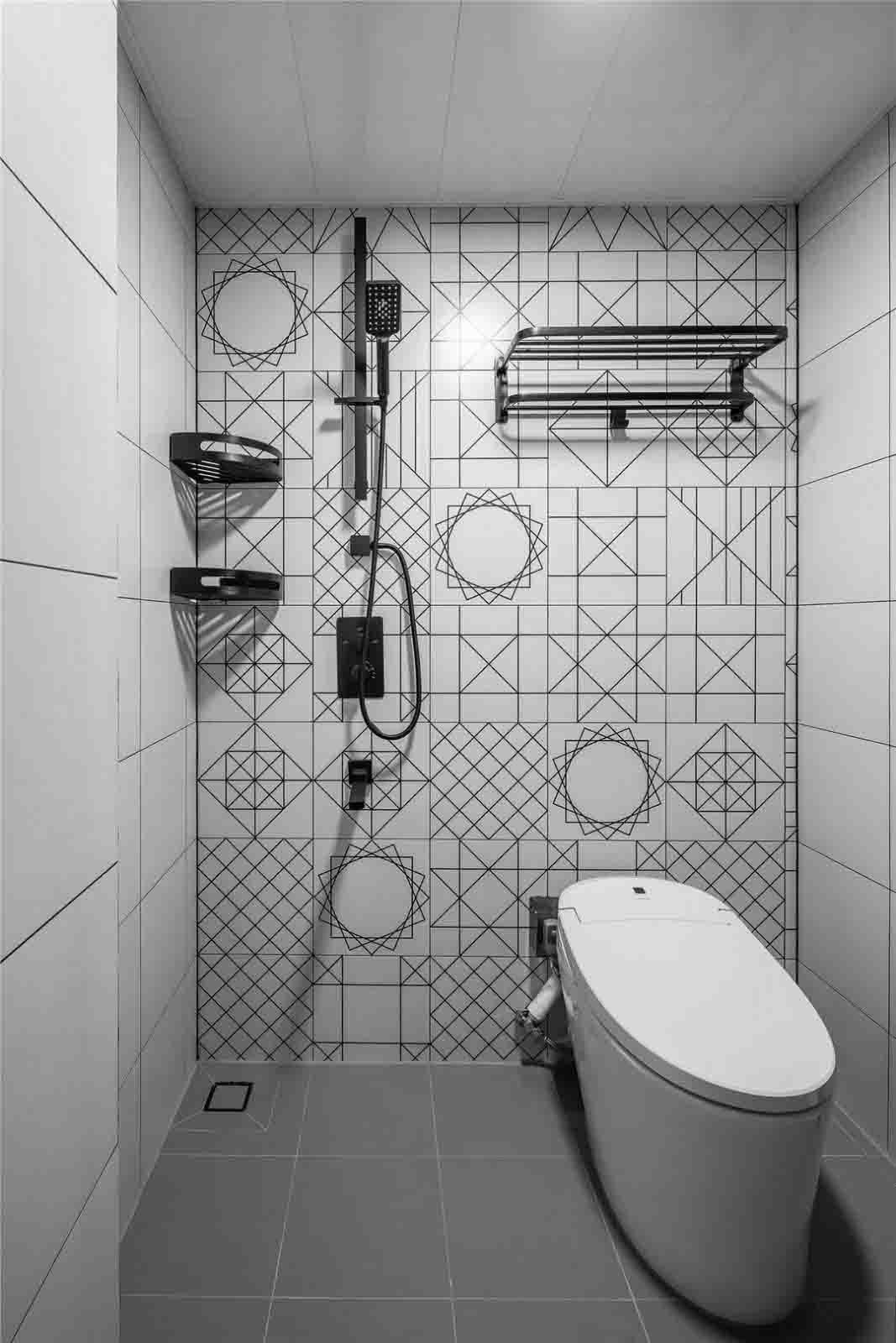 2021北欧卫生间装修图片 2021北欧地板砖设计图片