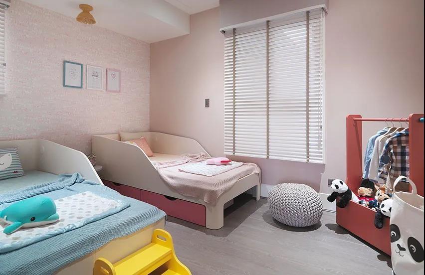 2021美式儿童房装饰设计 2021美式床效果图