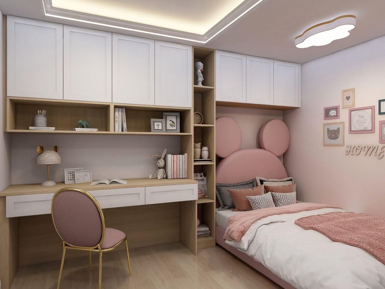 2021新中式卧室装修设计图片 2021新中式书桌装修图