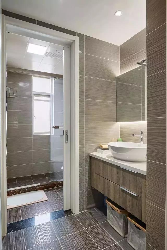 2021美式卫生间装修图片 2021美式淋浴房装修设计图片