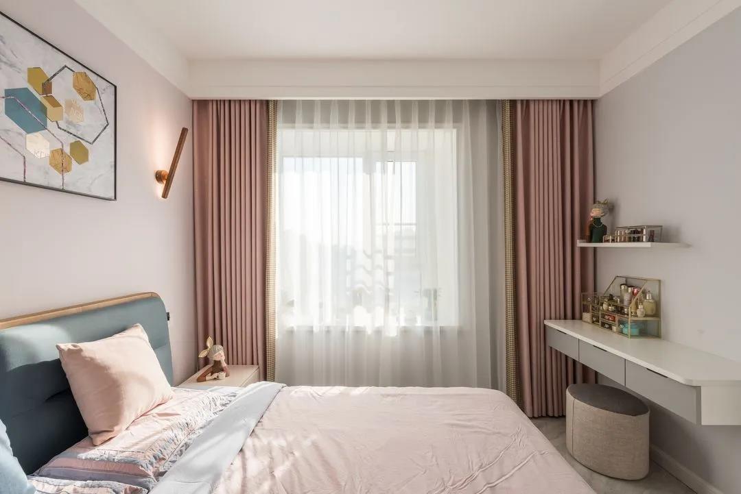 2021北欧卧室装修设计图片 2021北欧飘窗装修图片