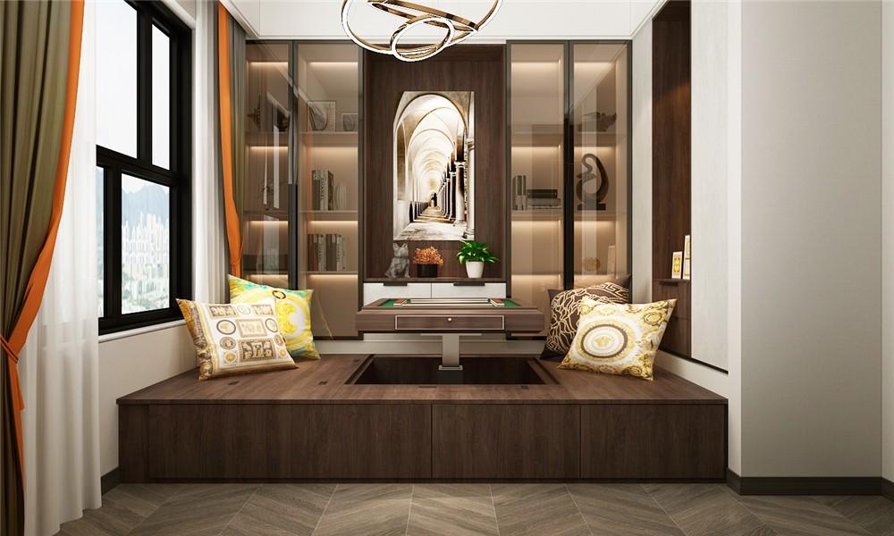 2021后现代起居室装修设计 2021后现代榻榻米装修设计图片