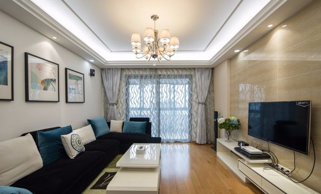 2018现代100平米图片 2018现代三居室装修设计图片