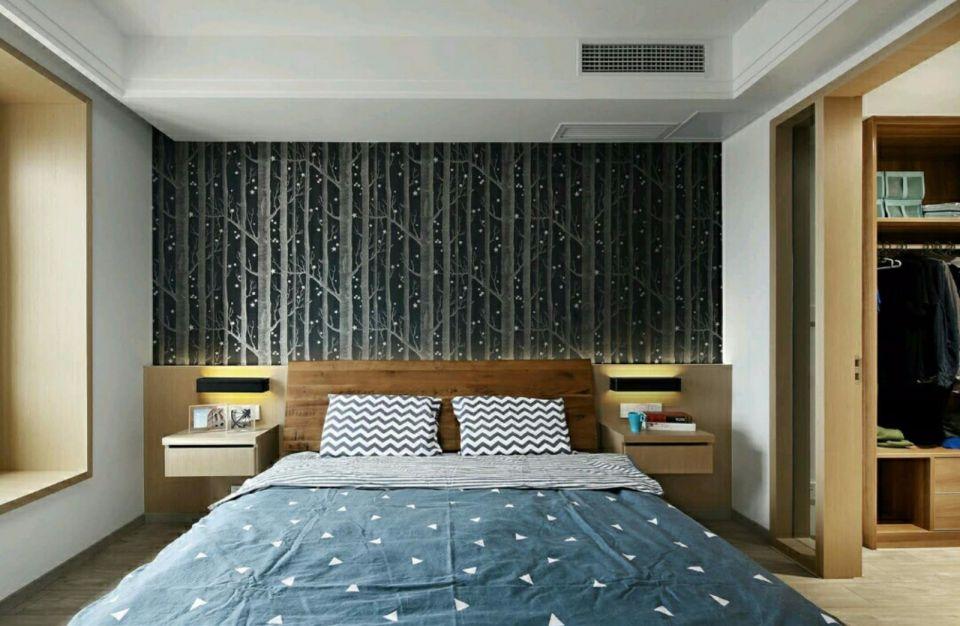 2018现代简约120平米装修效果图片 2018现代简约二居室装修设计