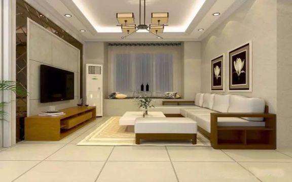 96平米现代风格三室一厅装修效果图