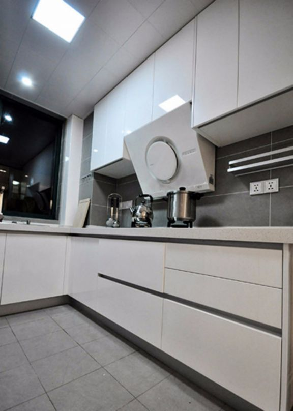 低调优雅美式厨房装修效果图
