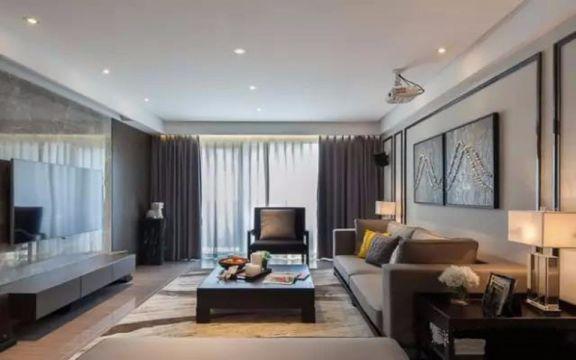 2021新中式80平米设计图片 2021新中式二居室装修设计