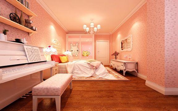 儿童房细节简欧风格装修设计图片