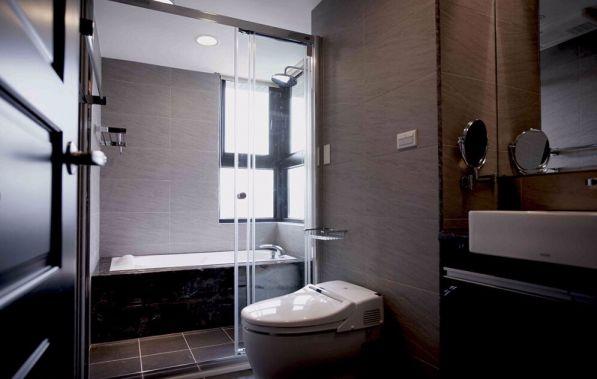 卫生间隔断现代风格装饰设计图片