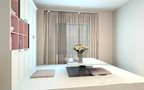 起居室榻榻米现代简约风格装修效果图