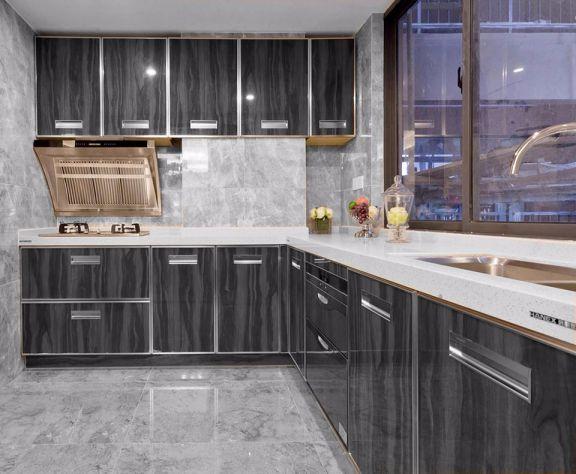 厨房橱柜现代简约风格装潢图片