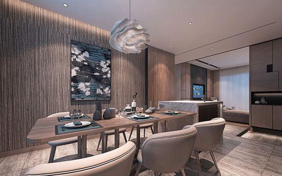 沽上江南92平米二居室欧式风格装修效果图