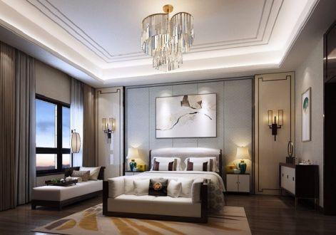 大汉汉园新中式风格600平米别墅装修效果图