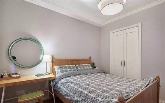 卧室白色吊顶简约风格装修设计图片