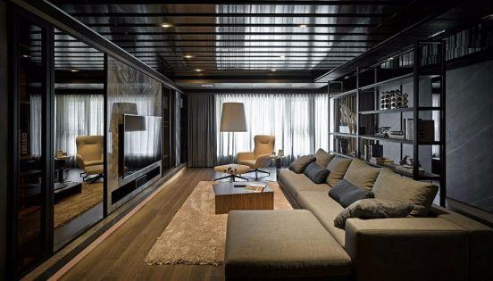 2021现代240平米装修图片 2021现代套房设计图片