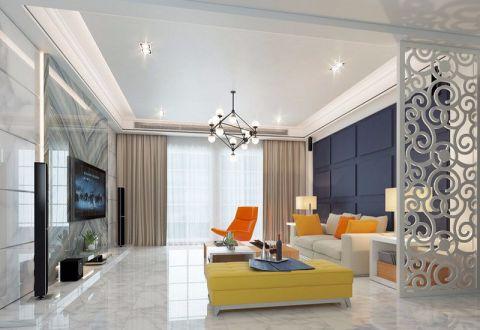 2021简约150平米效果图 2021简约四居室装修图