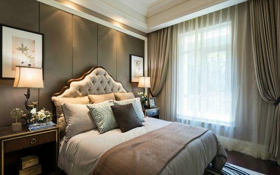 卧室窗台欧式风格装修效果图