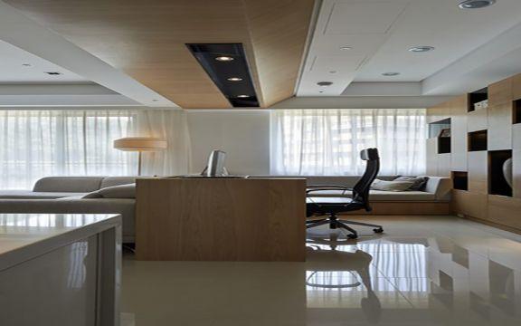 客厅吊顶日式风格装饰设计图片