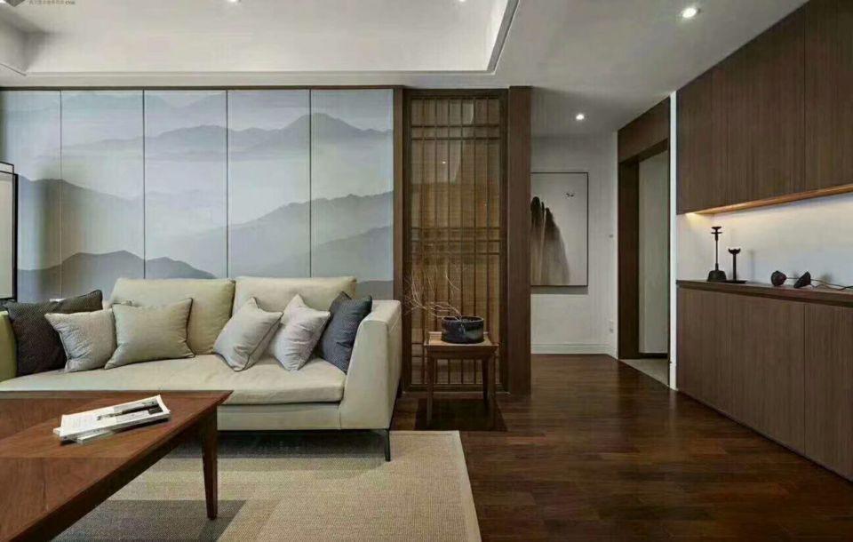 客厅细节现代中式风格装潢图片