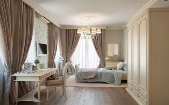 卧室衣柜欧式风格装潢图片