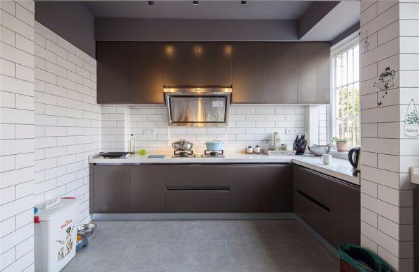 厨房背景墙欧式风格装饰设计图片