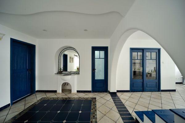 玄关门厅地中海风格装修设计图片